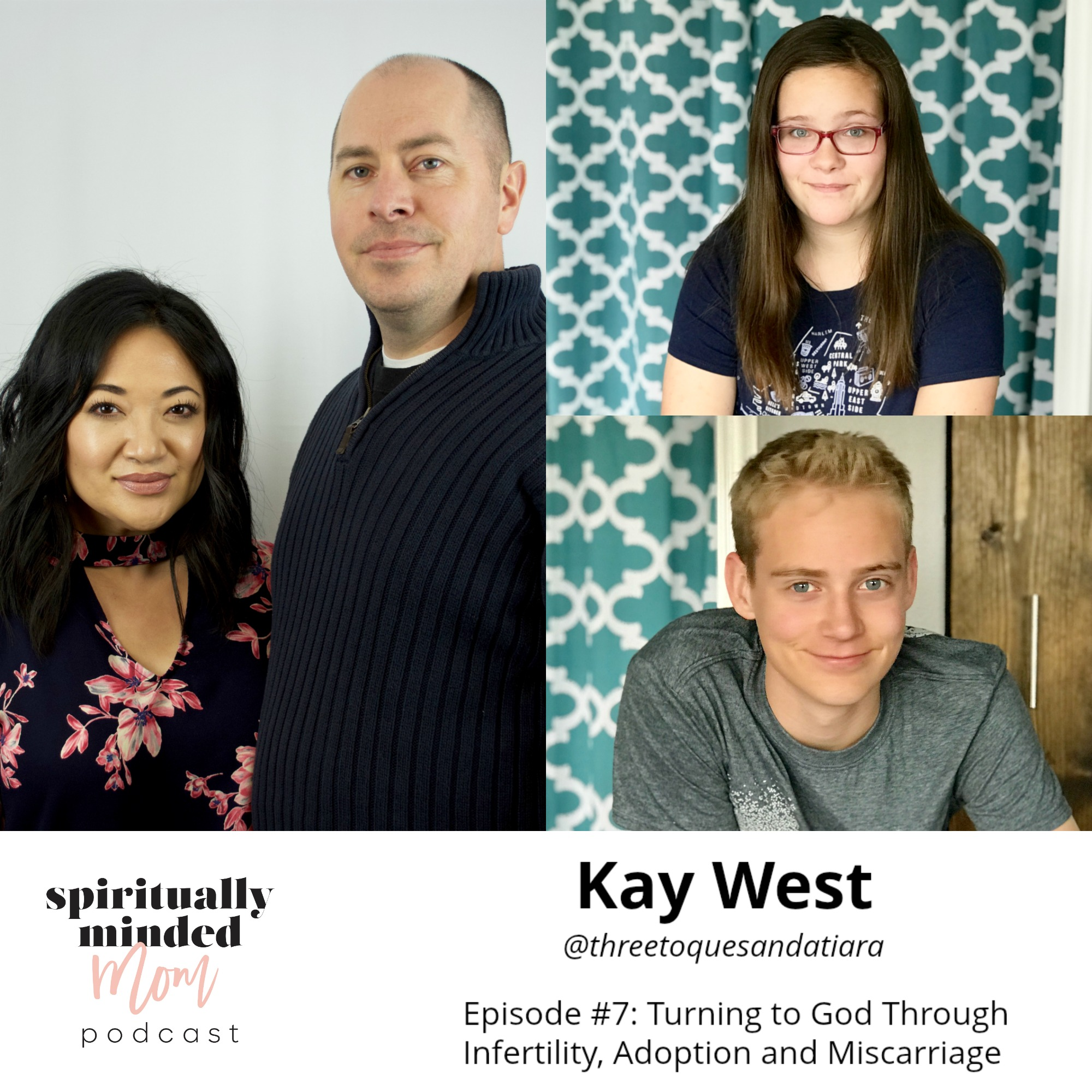 SMM 007: Turning to God Through Infertility, Adoption and Miscarriage || Kay West