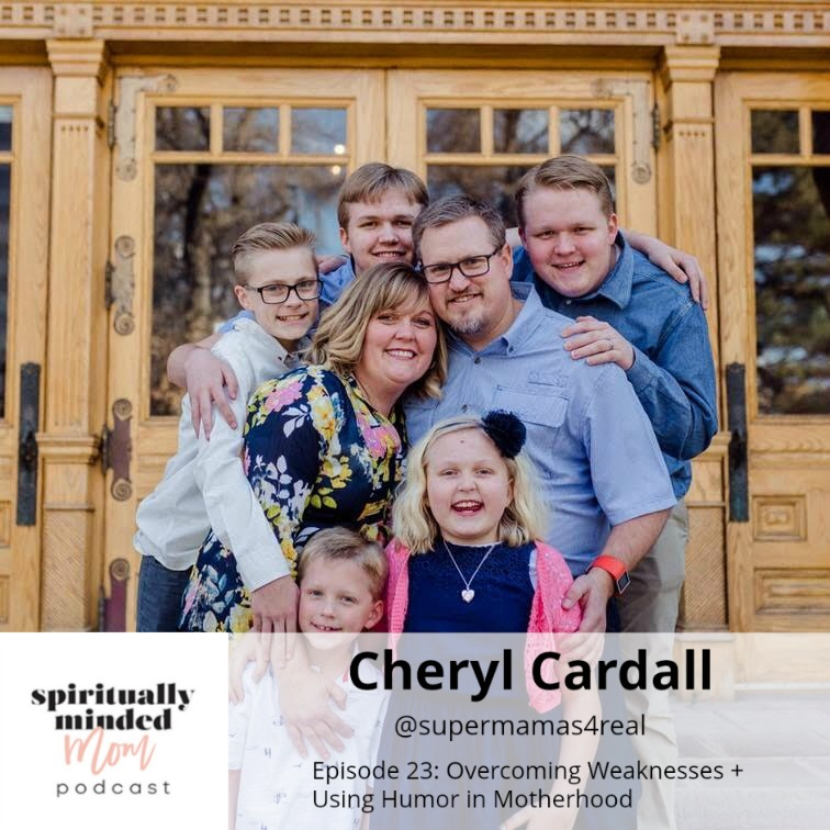 SMM 023:   Overcoming Weaknesses + Using Humor in Motherhood  || Cheryl Cardall