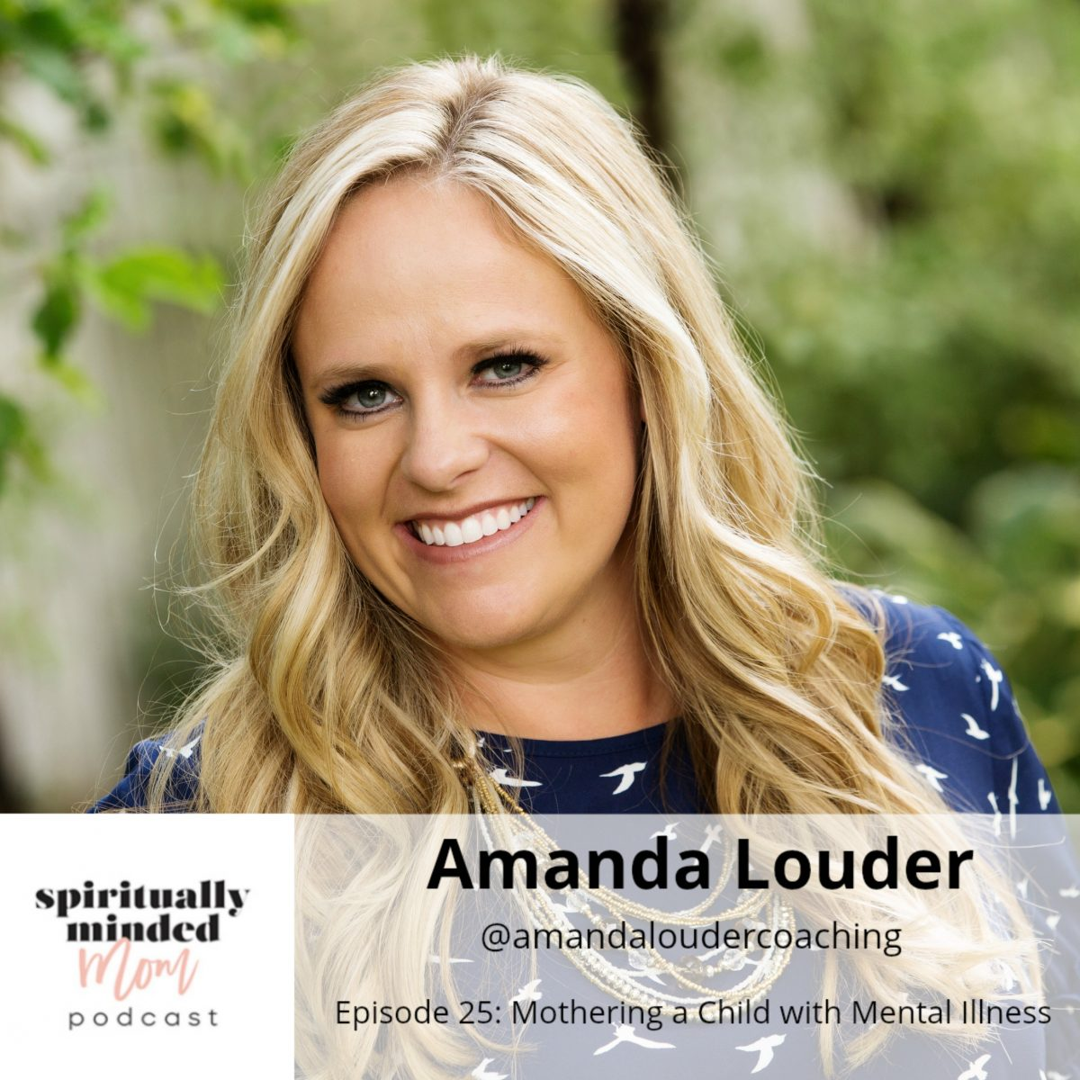 SMM 025: Mothering a Child with Mental Illness || Amanda Louder